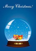 Noel küre — Stok Vektör