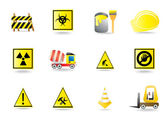 Set of vector construction icons — Vetorial Stock