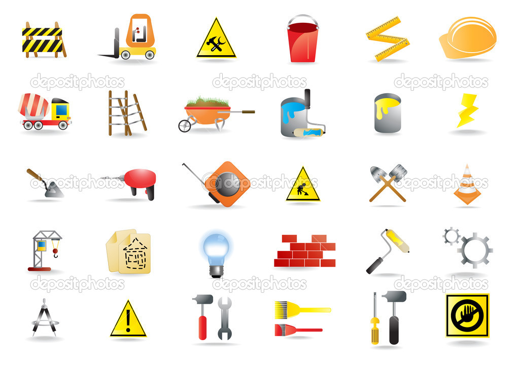 And Construction Icons