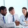 Business group at work — Stock Photo #12497590