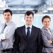 Business musketeers — Stock Photo
