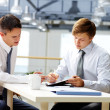 Foto Stock: Business coaching
