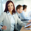 Lady in business — Stock Photo