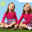 Beautiful twins — Stock Photo #12498865