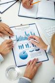 Revisão do negócio — Foto Stock
