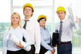 Successful architects — Stock Photo
