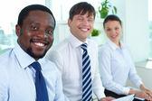 Leader del team di business — Foto Stock