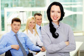 Young in business — Stock Photo