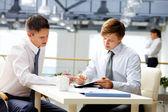 Business coaching — Stock Photo