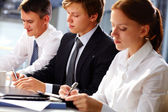 Busy group — Stock Photo