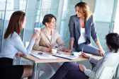 Female business — Stock Photo