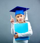 Graduation kid — Stock Photo