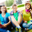 Students at leisure — Stock Photo #12502054