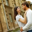 Love in old city — Stock Photo #12507811