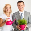 Business gardening — Stock Photo #12507907