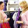 Choosing clothes — Stock Photo #12508779