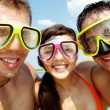 Scuba friends — Stock Photo
