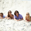 White sand — Stock Photo #12509288