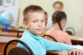 Youthful pupil — Stock Photo