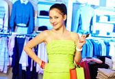 Smart shopper — Stock Photo