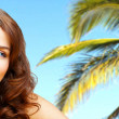 Tropic beauty - Stock Photo