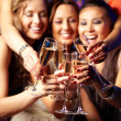 party champagne — Stockfoto #12510168