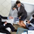 Business team at meeting — Stock Photo #12510549