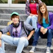 Youthful friends — Stock Photo #12510846