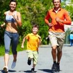 Healthy runners — Foto de Stock   #12511466