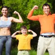 Strong family — Stock Photo #12511487