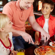 Pizza lovers — Stock Photo #12511507