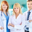 Group of practitioners — Stock Photo