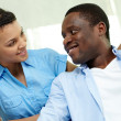 African couple — Stock Photo #12514470