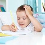 Creative homework — Stock Photo #12514491