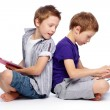 Hi-tech kids - Stock Photo