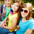 Stock Photo: Smiling teens