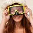 Royalty-Free Stock Photo: Scuba girl