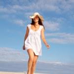 Beach walker — Stock Photo