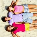 Company of teens — Stock Photo #12515946