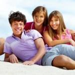 Teens on the beach — Stock Photo #12515980