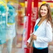 Happiness of shopaholic — Stock Photo