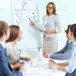 Presenting strategy - Stock Photo
