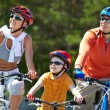 Riding on bicycles — Stock Photo #12519217