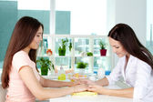 Hand care consultancy — Foto Stock