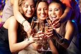 Groupe de champagne — Photo