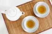 чай для двоих — Стоковое фото