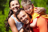 Liefdevolle familie — Stockfoto