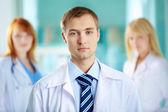 Serious physician — Stock Photo