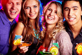 Best friends partying — Stock Photo