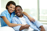 Amorous couple — Stock Photo
